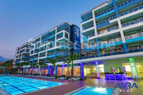 Luxusné 2-izbové apartmány v Aura Blue v Alanyi