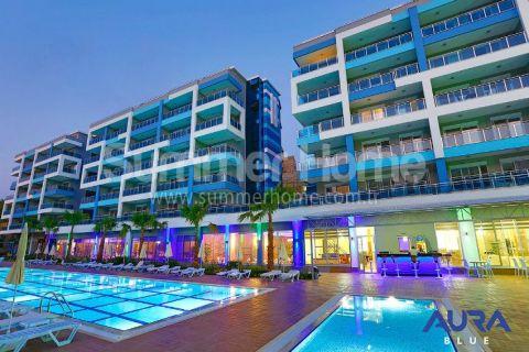 Luxusné 2-izbové apartmány v Aura Blue v Alanyi - 5