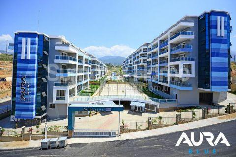 Luxusné 2-izbové apartmány v Aura Blue v Alanyi - 7