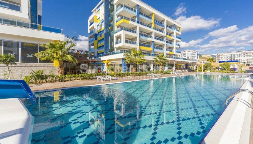 阿拉尼亚凯斯泰尔现代独立住宅区的海景公寓 general - 3