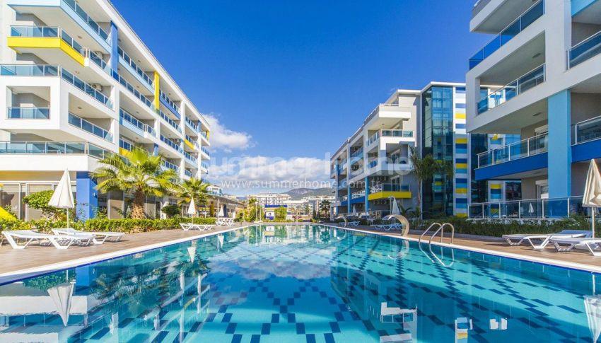 阿拉尼亚凯斯泰尔现代独立住宅区的海景公寓 general - 4