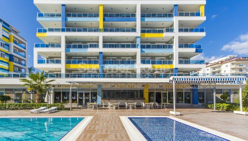 阿拉尼亚凯斯泰尔现代独立住宅区的海景公寓 general - 5