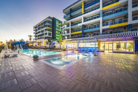 1-Bedroom Sea View Apartment in Lory Queen in Alanya - 14