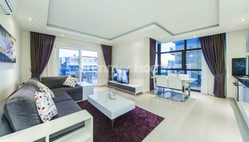 阿拉尼亚凯斯泰尔现代独立住宅区的海景公寓 interior - 42