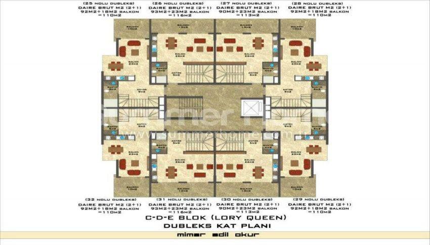 阿拉尼亚凯斯泰尔现代独立住宅区的海景公寓 plan - 10
