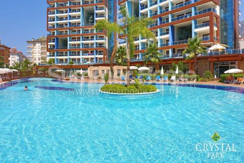 Stylish Apartment with Sea View for Rent in Cikcilli, Alanya