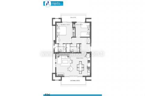 Luxuriöses Neubauprojekt mit Meerblick in Side, Kumköy - Immobilienplaene - 37