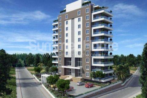 Kvalitne navrhnuté apartmány v Alanyi - 2