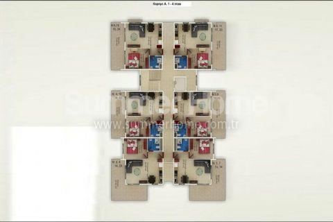 Cenovo dostupné byty na predaj v Alanyi - Plány nehnuteľností - 14