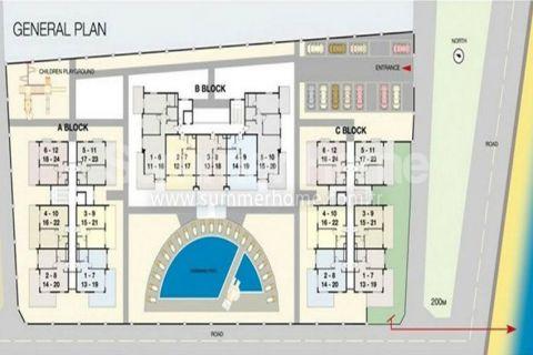 Cenovo dostupné byty na predaj v Alanyi - Plány nehnuteľností - 16
