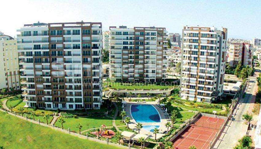 Appartements en résidence de luxe avec une excellente vue à Lara, Antalya general - 1
