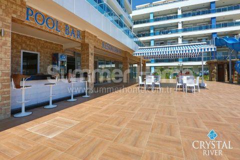 Pohodlný 3-izbový apartmán na predaj v Crystal River v Alanyi - 11