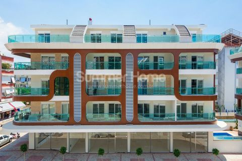 New Sea View Apartments in Alanya - 1