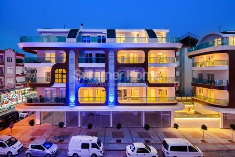 New Sea View Apartments in Alanya - 17