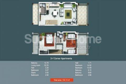 2/3 Zimmer-Wohnungen in Side - Immobilienplaene - 17