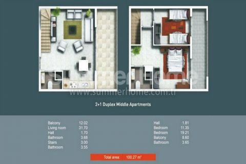 2/3 Zimmer-Wohnungen in Side - Immobilienplaene - 18