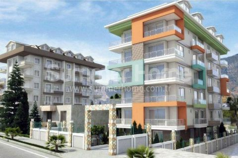 Perfect Cozy Seafront Apartments in Kestel, Alanya