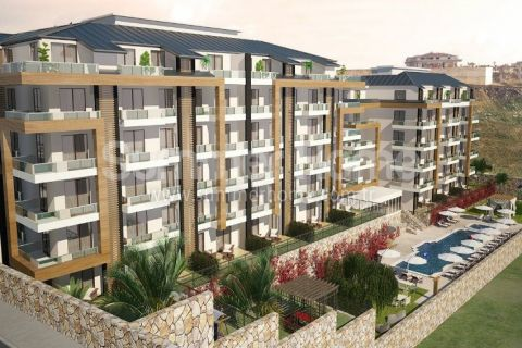 Pleasant Apartments and Penthouses in Alanya - 1