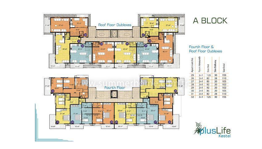阿拉尼亚经济实惠的精品公寓 plan - 2