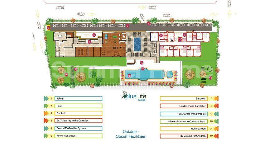 阿拉尼亚经济实惠的精品公寓 plan - 3