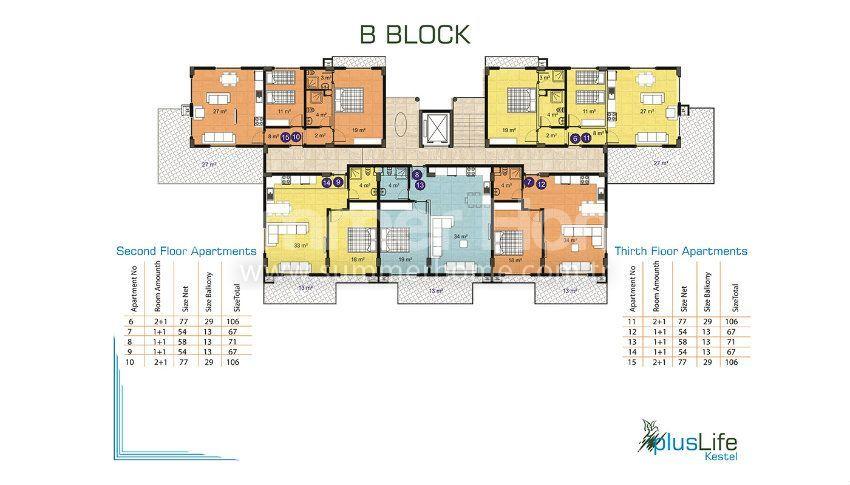 阿拉尼亚经济实惠的精品公寓 plan - 4