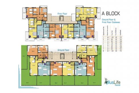 Pleasant Apartments and Penthouses in Alanya - Property Plans - 12