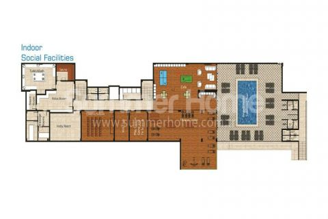 Pleasant Apartments and Penthouses in Alanya - Property Plans - 18