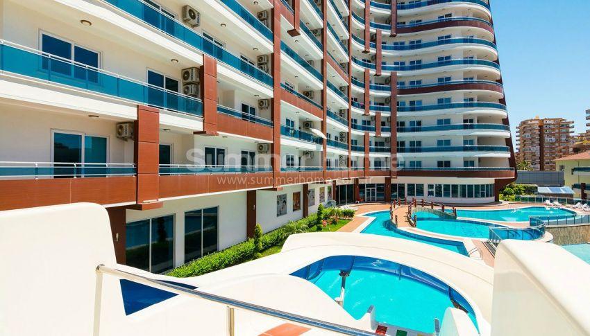 阿拉尼亚马赫穆特拉尔的豪华公寓,有山景和海景 general - 2