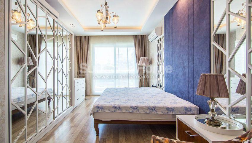 阿拉尼亚马赫穆特拉尔的豪华公寓,有山景和海景 interior - 13