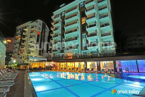 Knusse studio te koop in een geweldige complex in Alanya