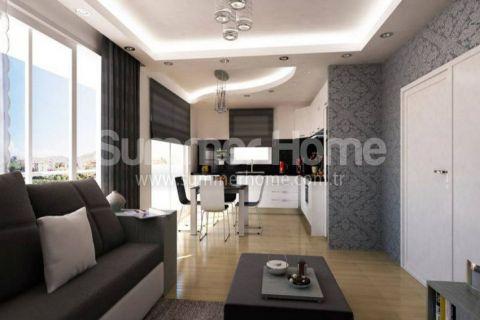Útulné 2-izbové byty na predaj v Alanyi - Fotky interiéru - 9