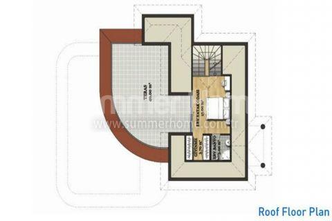 Large Detached Villas in Belek - Property Plans - 24