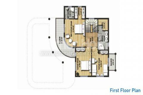 Large Detached Villas in Belek - Property Plans - 25