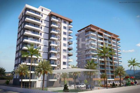 Современные квартиры по доступным ценам в Махмутларе