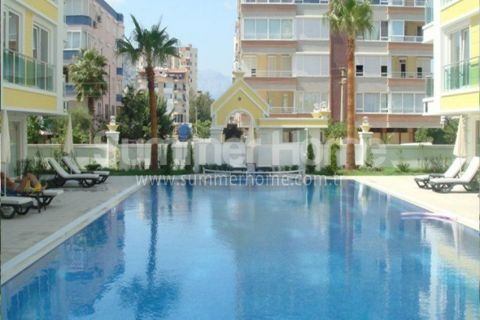 Cozy Apartments for Sale in Antalya