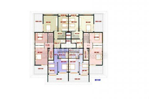 Výhodné apartmány na predaj v Alanyi - Plány nehnuteľností - 11