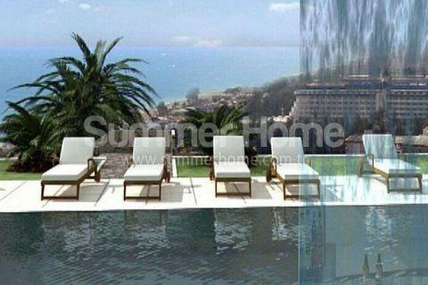 Эксклюзивные квартиры с видом на море в Конаклы - Фотографии комнат - 7