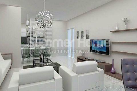 Exkluzívne apartmány s výhľadom na more v Alanyi - Fotky interiéru - 9