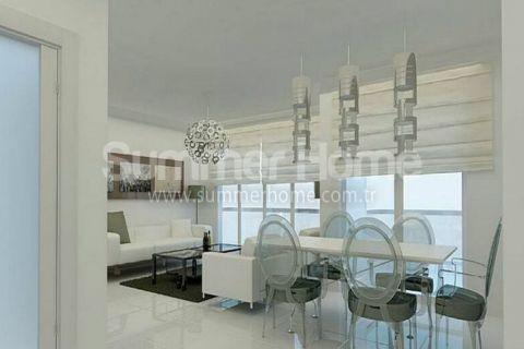 Exkluzívne apartmány s výhľadom na more v Alanyi - Fotky interiéru - 10