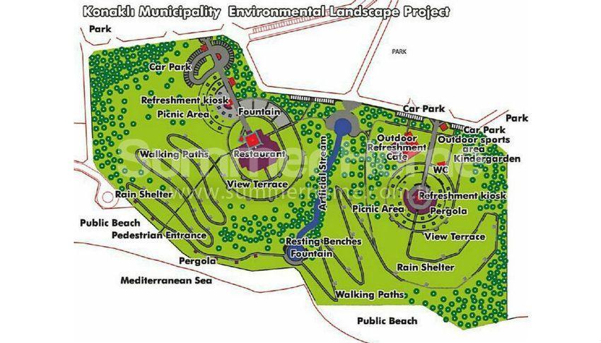 阿拉尼亚科纳克里的专属海景公寓,邻近海滩 plan - 1