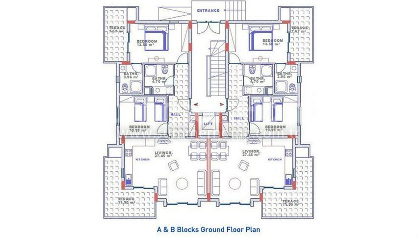 阿拉尼亚科纳克里的专属海景公寓,邻近海滩 plan - 3