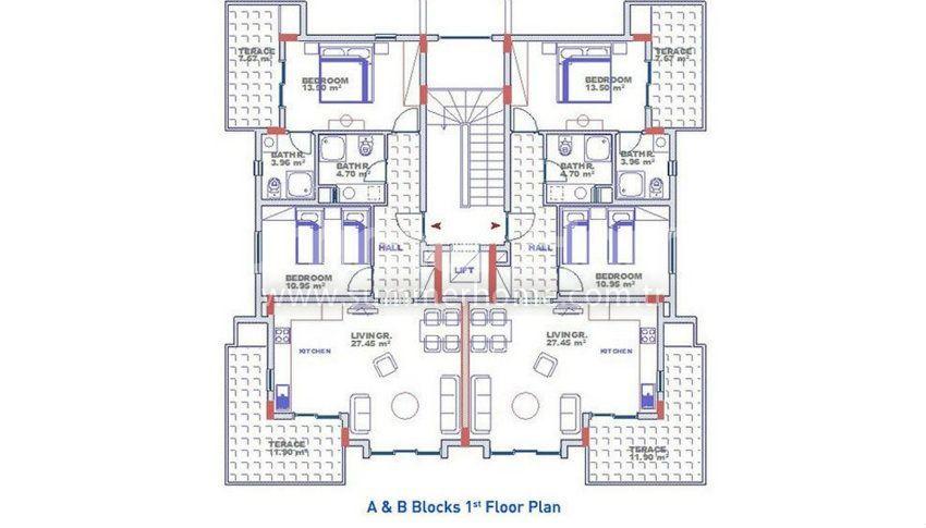 阿拉尼亚科纳克里的专属海景公寓,邻近海滩 plan - 4