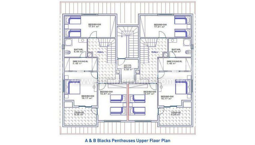 阿拉尼亚科纳克里的专属海景公寓,邻近海滩 plan - 6