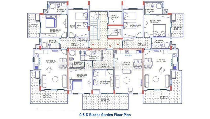 阿拉尼亚科纳克里的专属海景公寓,邻近海滩 plan - 7