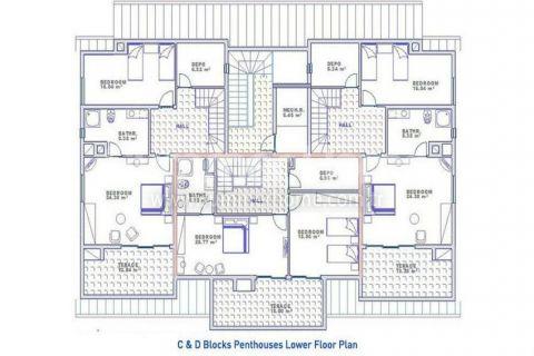 Konakli Sunset Apartments Fantastische Meerblick Wohnungen in Konakli - Immobilienplaene - 22