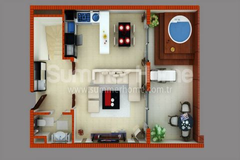 Stylish Apartments for Sale in Alanya - Property Plans - 28