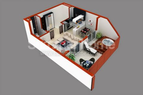 Stylish Apartments for Sale in Alanya - Property Plans - 29