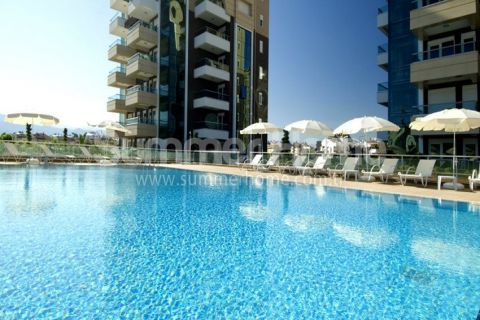 Luxurious 1-Bedroom Apartments in Antalya