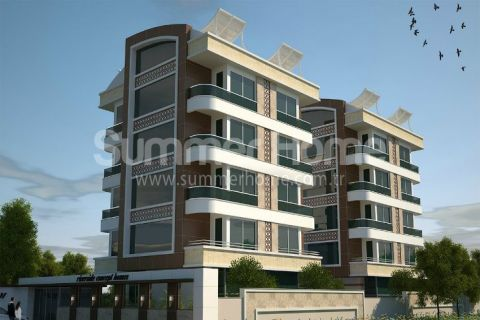 Luxury Apartments with Rich Facilities in Antalya