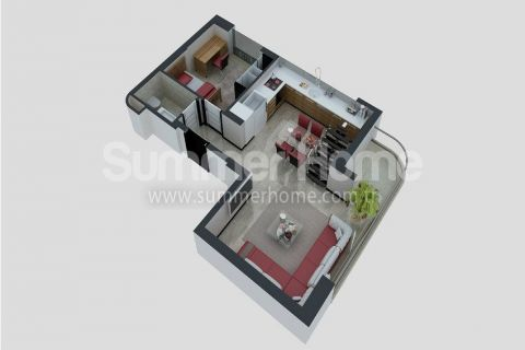 Apartments with Affordable Prices in Antalya - Property Plans - 22